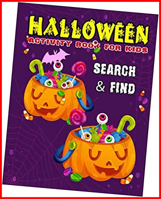 £7.21 • Buy Halloween Search And Find: Spot The Differences - Activity Book Halloween Search