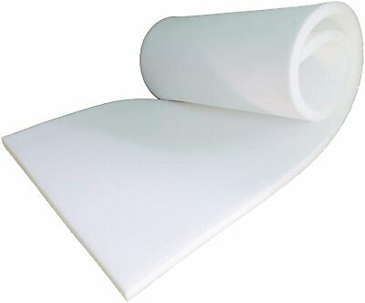 £1.20 • Buy White Foam High Density Upholstery Seating Cushion Pads Sofa Car Cut To Any Size