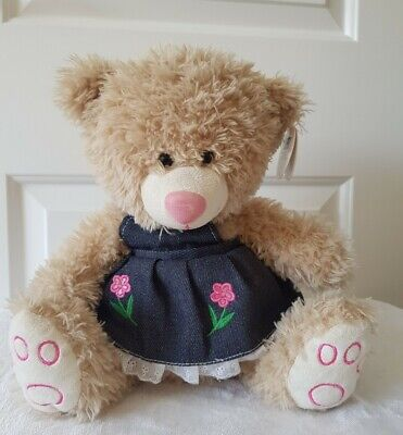 £6.99 • Buy Card Factory Cuddles Collection Teddy Bear Wearing Dress Soft Toy Plush