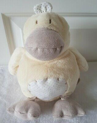 £7.99 • Buy Dotty Duck Mamas And & Papas Soft Toy Plush Cuddly Baby Teddy Comforter