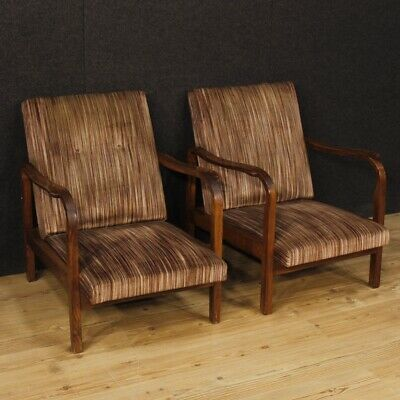 AU2684.09 • Buy Armchairs Couple Chairs Italian Living Room Design Furniture Wooden Fabric Fully
