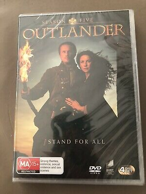 AU30 • Buy Outlander Season 5 Series Stand For All Set Of 4 Disks Region 4 NEW And Sealed