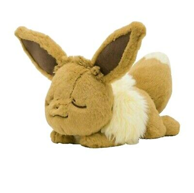 £32 • Buy Official Sleeping Eevee Plush - From Pokémon Center Japan - IN HAND