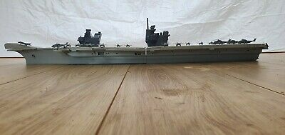 £110 • Buy HMS Queen Elizabeth Aircraft Carrier Waterline1/350 Model Ship Kit With F35