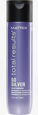 £11.60 • Buy Matrix   Total Results   So Silver   Toning Purple Shampoo   For Blondes, Greys