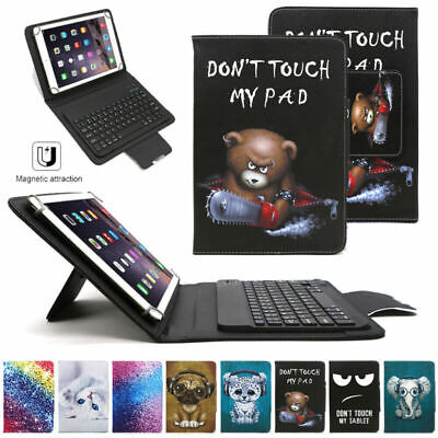 AU32.99 • Buy For Apple IPad Air 1 2 9.7  10.2  Pro 10.5  Keyboard Pattern Leather Case Cover