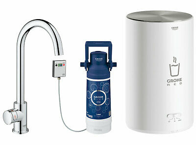 £650 • Buy Grohe RED Mono Pillar Instant Boiling Water Kitchen Tap And M Size Boiler