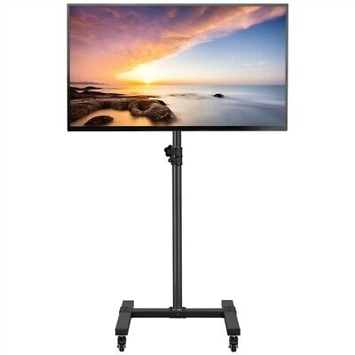 £34.99 • Buy  Mobile TV Stand On Wheels Rolling TV Trolley Floor TV Stand For 13-42 Inch TVs