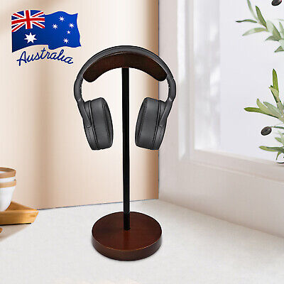 AU28.99 • Buy Wooden Headphone Stand Holder Hanger Display Rack Earphone Headset For Home A
