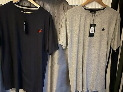 £10 • Buy Men's Urban Spirit T Shirt - Size Large X2 Blue And Grey New With Tags