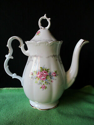 £92.59 • Buy Royal Albert. Tranquility. Tranquillity. Coffee Pot. Made In England.