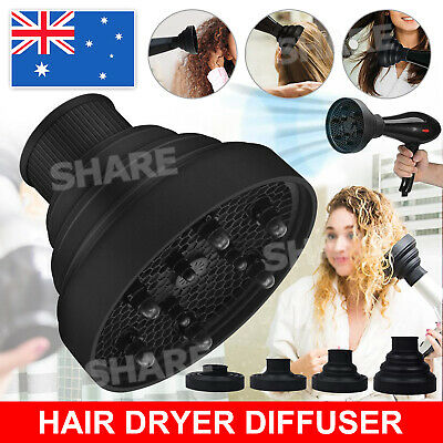 AU12.45 • Buy Silicone Hair Dryer NEW Universal Salon Travel Foldable Diffuser Professional