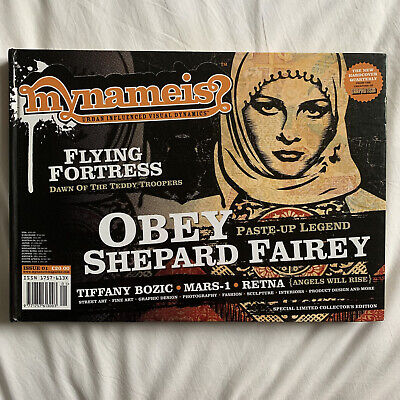 £24.99 • Buy Graphotism My Name Is Magazine Issue 1 Limited Edition Obey Shepard Fairey Retna
