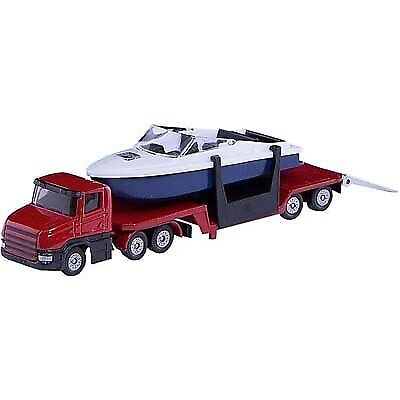 £6.99 • Buy SIKU - Low Loader With Speed Boat - 1:55 Scale