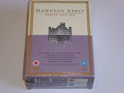 £24.99 • Buy Downton Abbey -The Series 1-6 Collection - GENUINE UK 23x DVD BOX SET Downtown