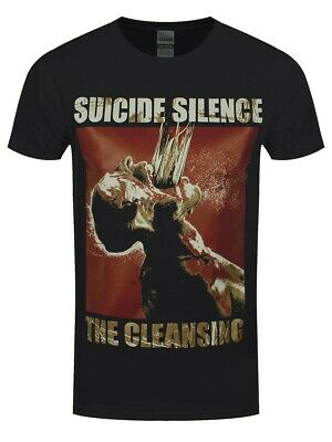 £23.25 • Buy Suicide Silence T-shirt The Cleansing Men's Black