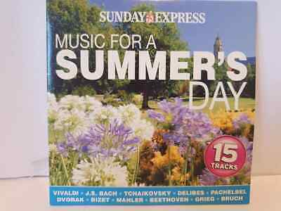 £1.99 • Buy Music For A Summers Day Cd Album Various Artist Sunday Express Promo