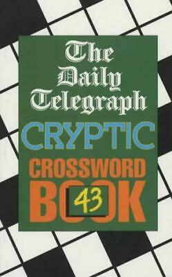 £8.52 • Buy Daily Telegraph Cryptic Crossword Book 43: No.43, Telegraph Group Limited, Good