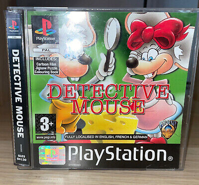 £82 • Buy Detective Mouse Sony PlayStation 1, PS1 - PAL UK Release