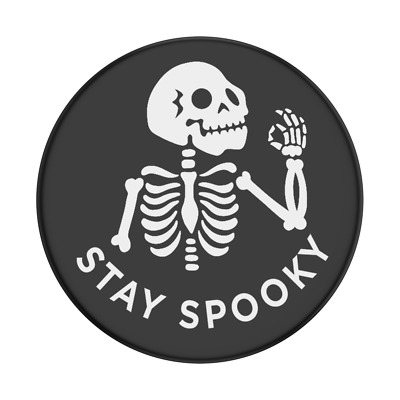 AU14.50 • Buy POPSOCKET - POPSOCKETS - Stay Spooky - SWAPPABLE Top- ORIGINAL POPGRIP