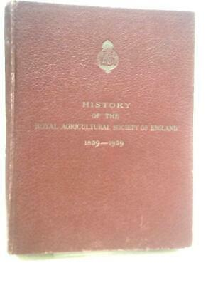 £12.79 • Buy Royal Agricultural Society Of England (J A Scott Watson - 1939) (ID:91987)