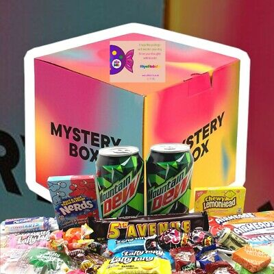 £12.95 • Buy 60 Mystery Hamper Box RANDOM American Sweets Confectionery Pick 'n' Mix Snack
