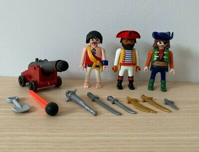 £2.49 • Buy Playmobil Pirate Figures With Working Canon
