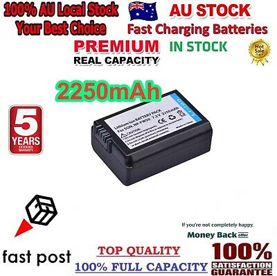 AU19.80 • Buy *2021* Real 2250mAh NP-FW50 Battery For SONY Alpha A5000,A5100,A6000,A6300,A6500