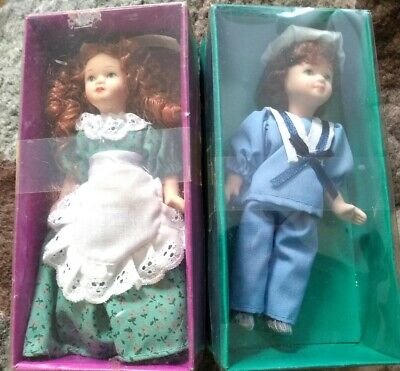 £10 • Buy 2 X Vintage Deagostini Porcelain Dolls Collectible 6 ' NEW See Pics