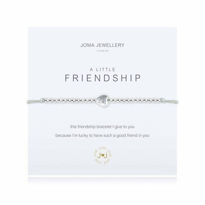 £13.50 • Buy Joma Jewellery A Little FRIENDSHIP Bracelet New With Gift Bag