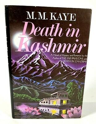 £8.77 • Buy DEATH IN KASHMIR, M. M. Kaye, First Edition, First Printing, Hardcover W/DJ
