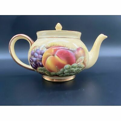 £220.43 • Buy Aynsley Orchard Gold Teapot Tea Cup Vintage RARE