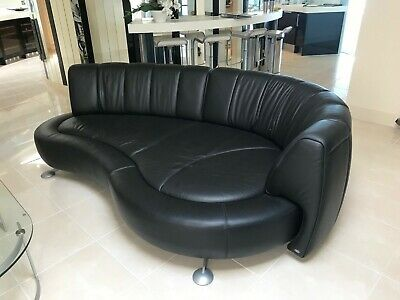 £2995 • Buy De Sede DS164 Black Leather Sofa Immaculate Condition, Hardly Used. RRP £14,600