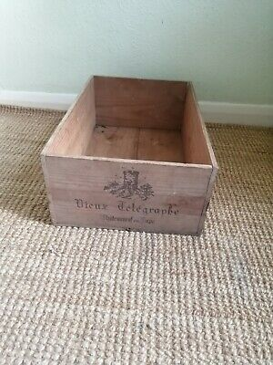 £8 • Buy  1 X French 12 Bottle Large Wooden Wine Crate / Box -- Planter  Hamper Storage**