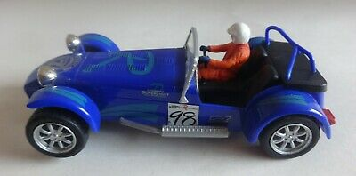 £14.95 • Buy Scalextric C2212 Blue Caterham Super 7 #98 Very Good Condition New Braids Tested