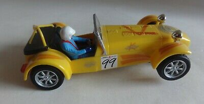 £19.95 • Buy Scalextric C2211 Caterham Super 7 #99 Yellow Excellent Condition Serviced