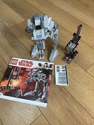 £25 • Buy Lego Star Wars First Order AT-ST (75201) NO MINIFIGURES
