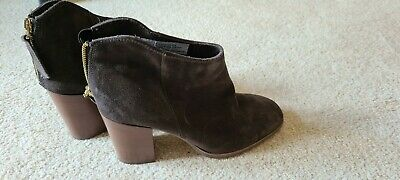 £9.50 • Buy Used Ladies Leather Ankle Boots Size 6
