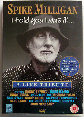 £5 • Buy Spike Milligan:  I Told You I Was Ill:  A Live Tribute:  Near Mint Dvd From 2003