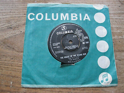 £5.90 • Buy VG+  THE ANIMALS - The House Of The Rising Sun / Talkin' 'bout You - 7  Single