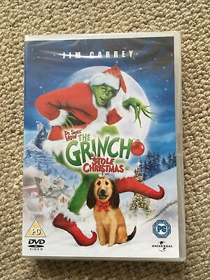 £0.99 • Buy Dr Seuss' How The Grinch Stole Christmas - DVD NEW & SEALED - Jim Carrey