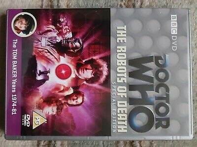 £1.20 • Buy Doctor Who - The Robots Of Death Special Edition DVD - Tom Baker