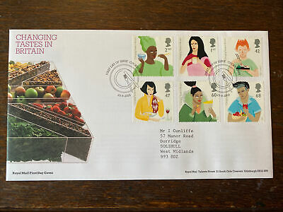 £0.99 • Buy GB 2005 Changing Tastes In Britain RM FDC Cookstown FDI SHS