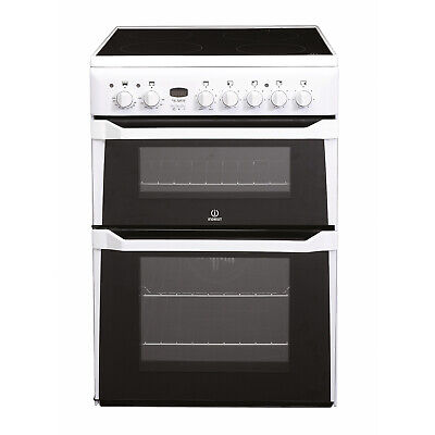 £353 • Buy Indesit Freestanding ID60C2W 60cm Electric Cooker - White