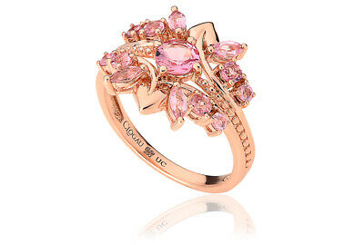 £450 • Buy NEW OFFICIAL Clogau 18ct Rose Gold Tree Of Life Tiara Ring SIZE J £850 Off!