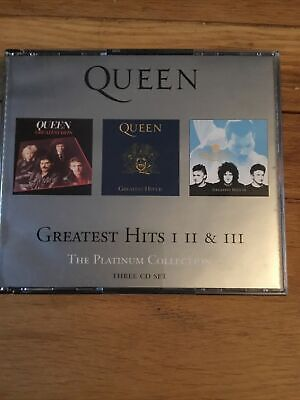 £7 • Buy Queen Greatest Hits 1,2 And 3 The Platinum Collection CD