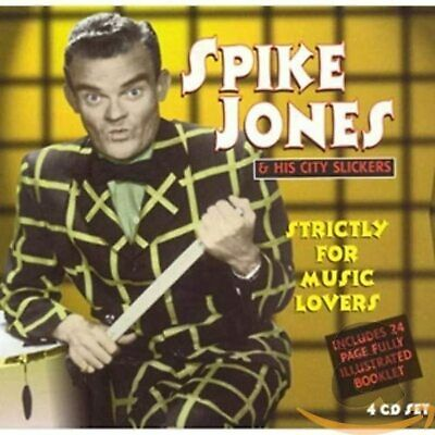 £5.01 • Buy Spike Jones & His City Slickers – Strictly For Music Lovers (4CD)