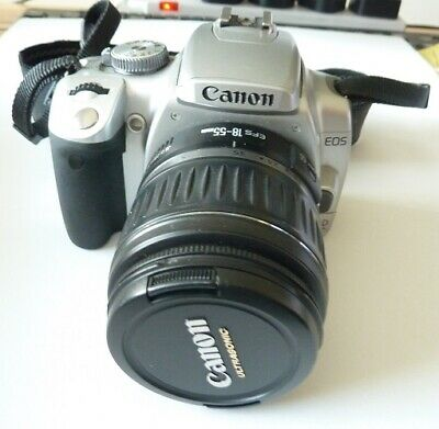 £275 • Buy CANON EOS 400D CAMERA With: EF-S 18-55mm / EP 75-300MM / SUNPAK / SD CARDS & BAG