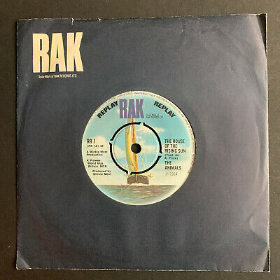 £4 • Buy The Animals The House Of The Rising Sun  UK  7  45 Vinyl Single Excellent