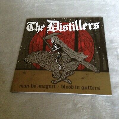 £11.99 • Buy The Distillers - Man Vs Magnet 7  (Punk/Rancid/Brody Dalle/Green Day/L7/Damned)